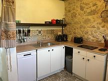 Marcadis Gite kitchen