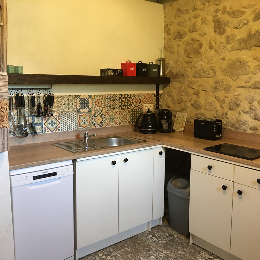 Marcadis Gite kitchen