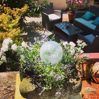 Marcadis Gite Outdoor lounge area