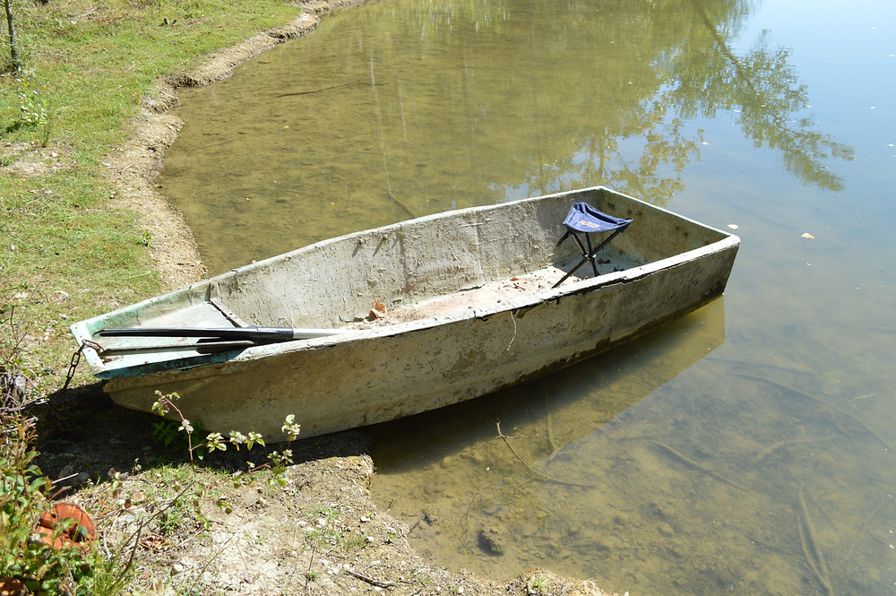 The old Rowing Boat