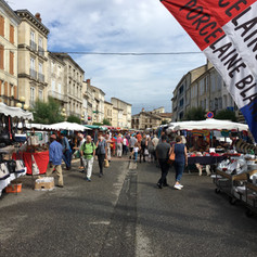 Nerac Saturday market