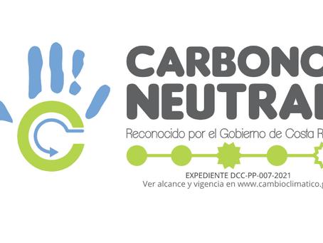 En Zona Franca La Lima obtuvimos la  certificación carbono neutro