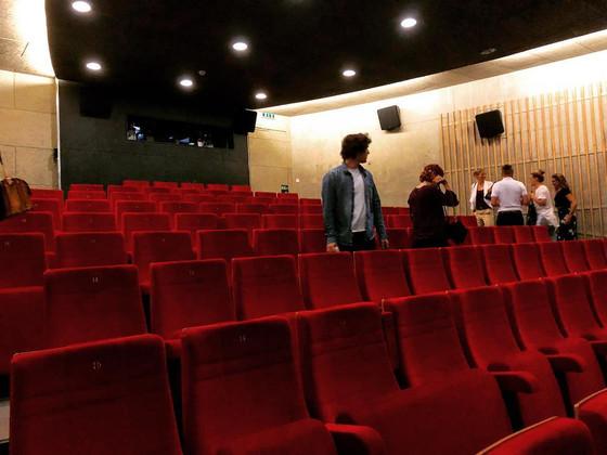 Probehören im Kino