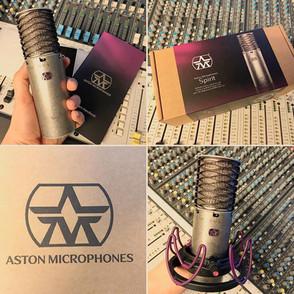 Neues Mikrofon
