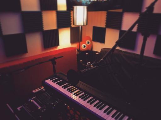 Recording mit Piano und Vocals
