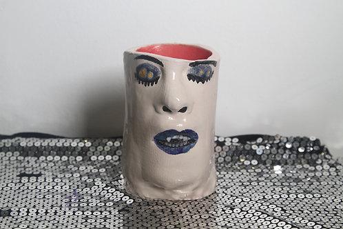 Goth Babe Vase/ Mug