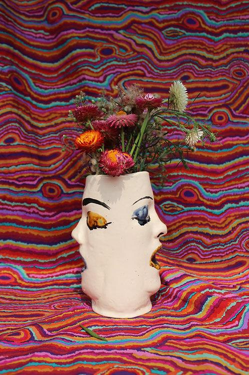 Janus Brows Vase