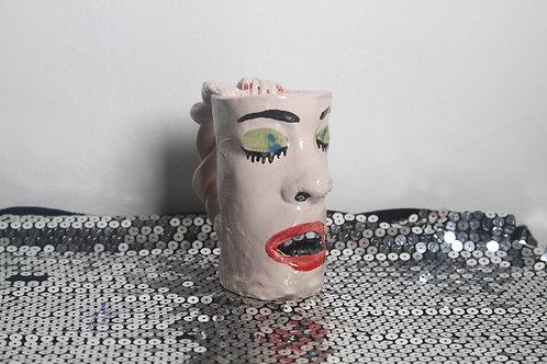 Wrapped Arm Face Mug