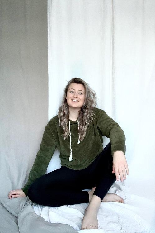 Yoga Trui, Comfy, Moss