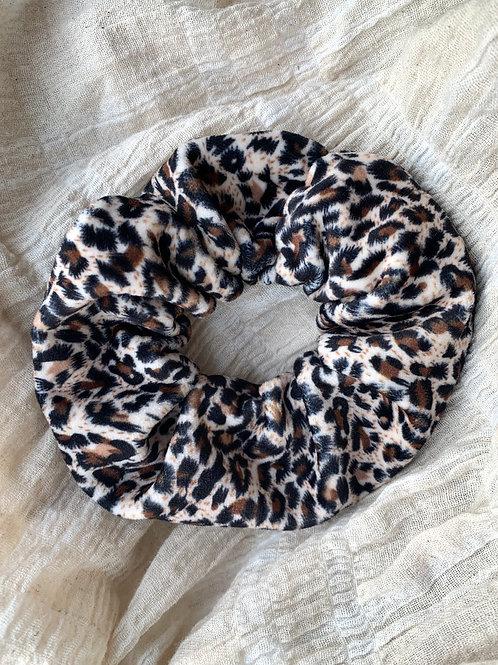 Scrunchie luipaard print