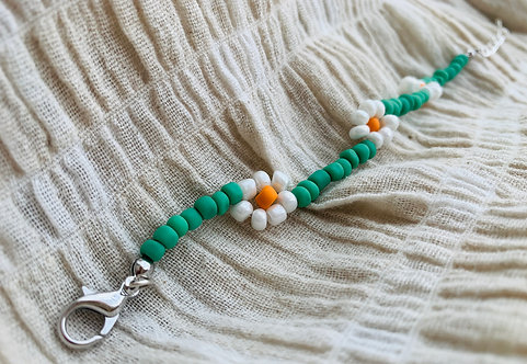 Daisy armbandje (oranje)