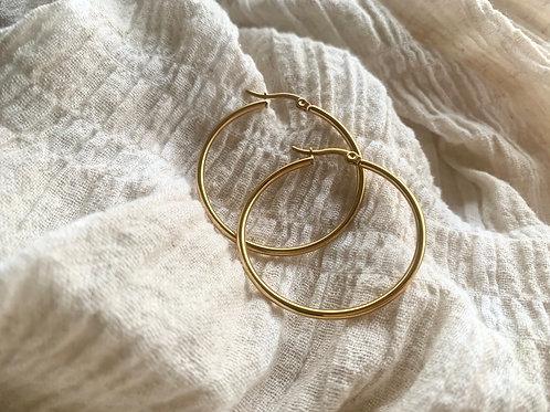 Gouden ringen (medium)