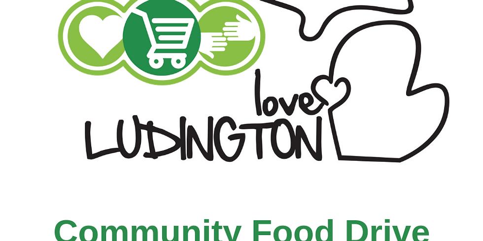 Love Ludington Community Food Drive