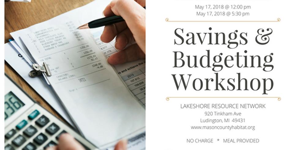 Free Savings & Budgeting Class