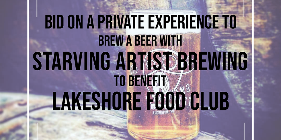 Starving Artist Brewer Experience Auction