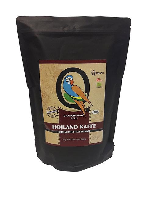 HIGHLAND COFFEE - Mellemristet helebønner