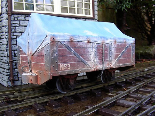 Covered 5 Plank Wagon Kit