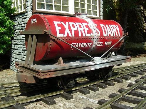 Round Tanker Wagon