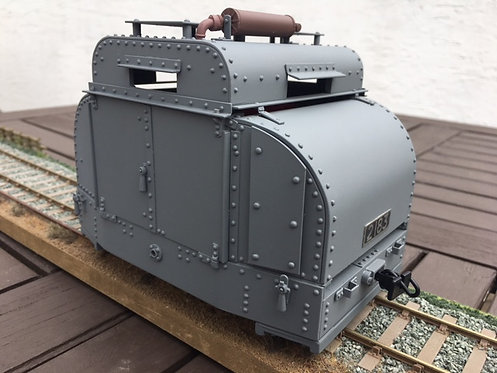 Fully Armoured Tin Turtle
