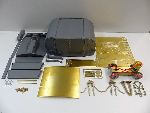 7/8ths Protected Tin Turtle Body Kit