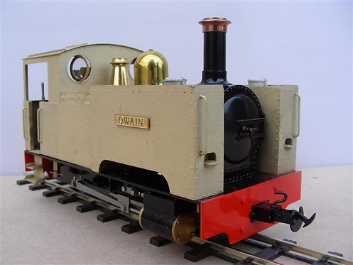 Brass Tank Locomotive Body Kit