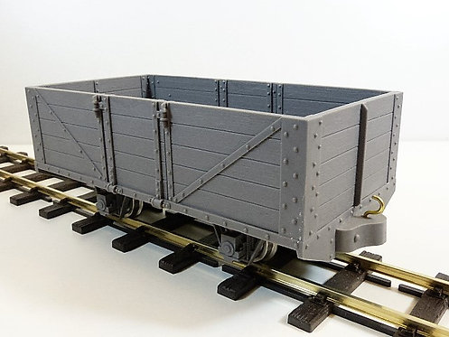 Uncovered Wagon Kit