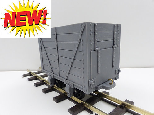 7 Plank Wagon with Door