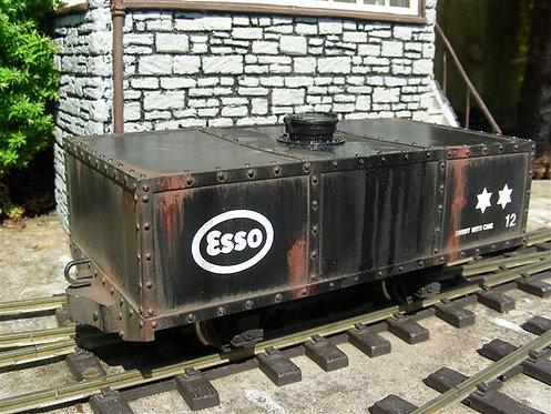 Square Tanker Wagon