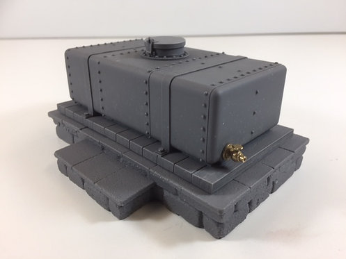 Grounded Small Tank