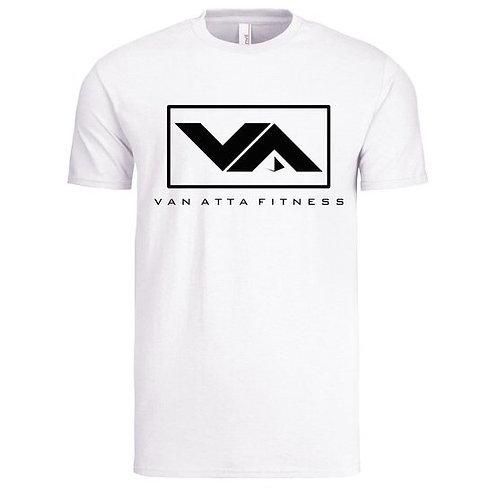 VA FITNESS TEE WHITE/BLACK