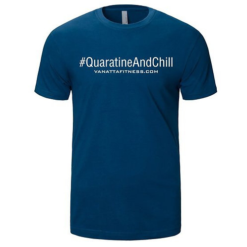 #QUARATINE AND CHILL COOL BLUE