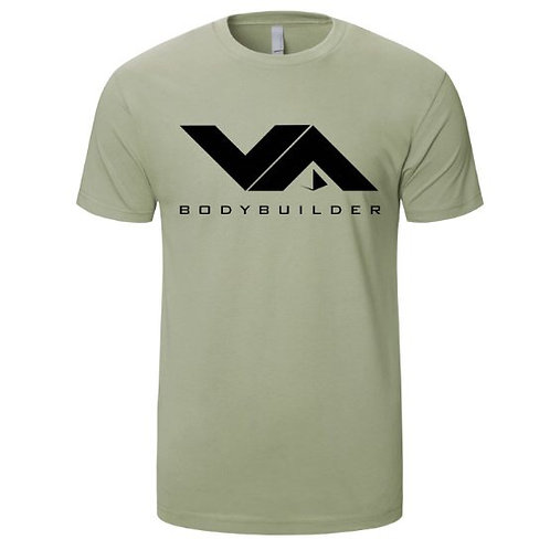 VA FITNESS BODYBUILDER TEE MILITARY GREEN