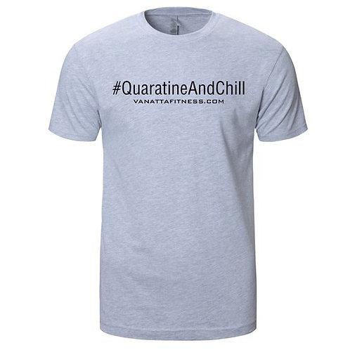 #QUARATINE AND CHILL GRAY/BLACK