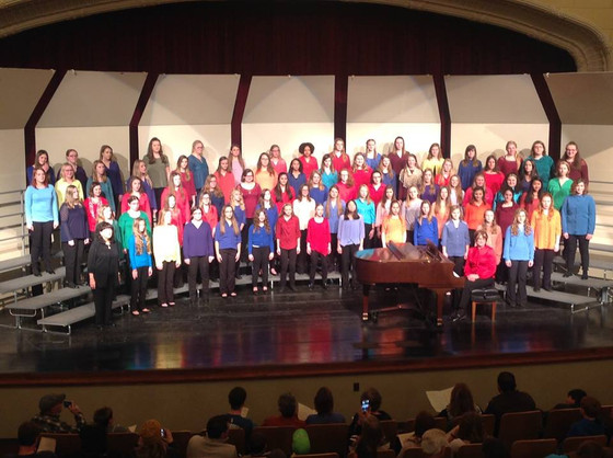 Highlights from the 2017 Junior Honor Choir and Midwinter Conference