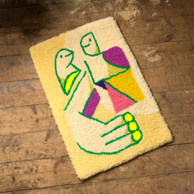'Automatic Drawing' rug