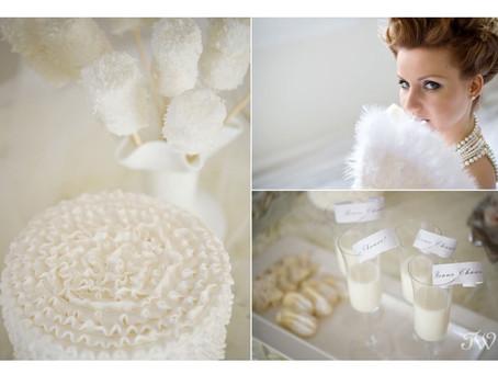 HUES OF WHITE: WINTER WEDDING INSPIRATION