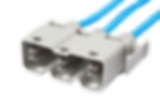 Connecteur de puissance 35 A surmoulé  | COMATEL