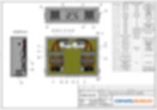 Schéma d'implantation d'un coffret électrique | COMATEL