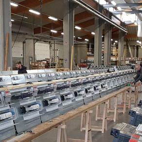 Visite des sites de production COMATEL et SEMER