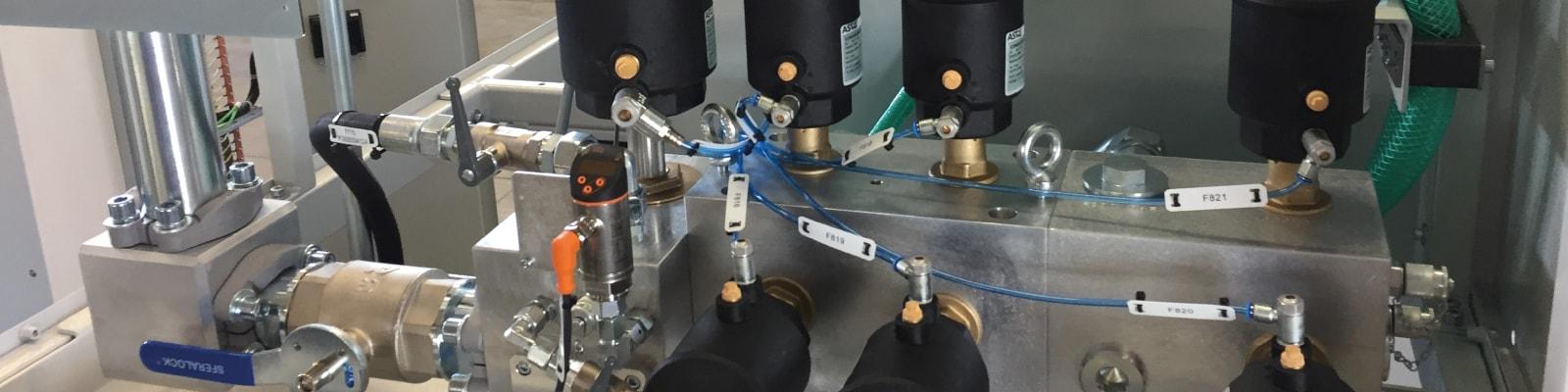 Réalisation centrales hydrauliques