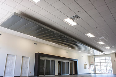cloud ceiling, acoustical ceiling