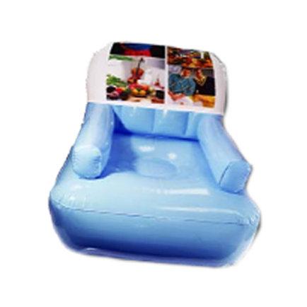 כורסא מתנפחת עם הדפסה