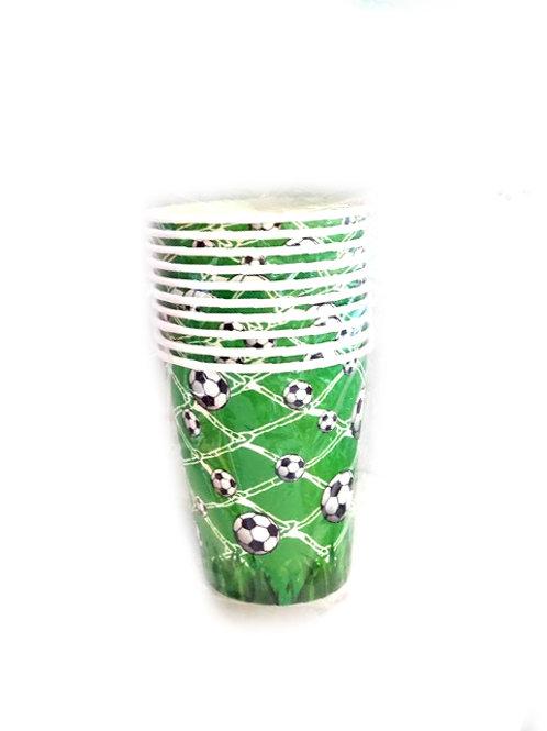 כוסות כדורגל שתיה חמה
