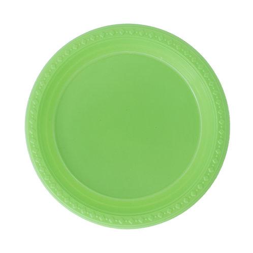 צלחת ירוק תפוח