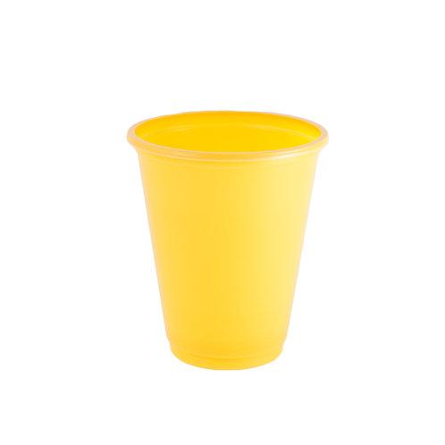 כוס צהובה