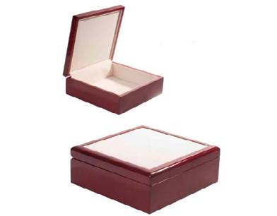 קופסת תכשיטים מהודרת + אריח קרמיקה
