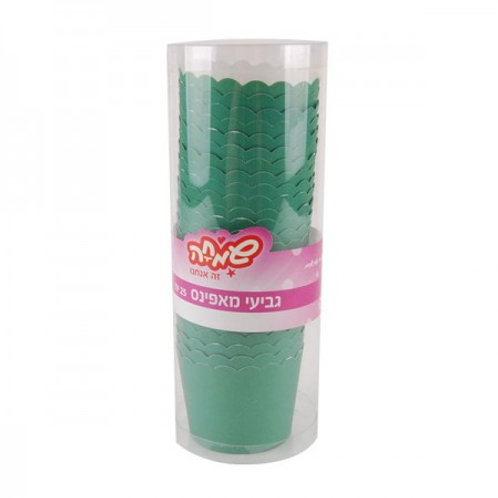 כוסות אפייה ירוקים