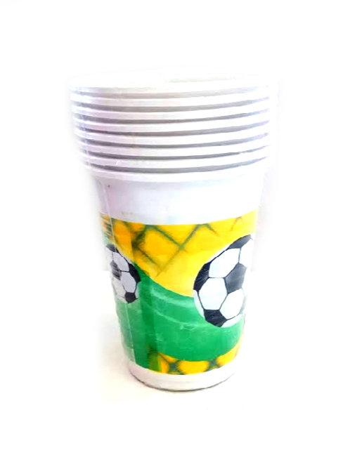 כוסות כדורגל לשתיה קרה