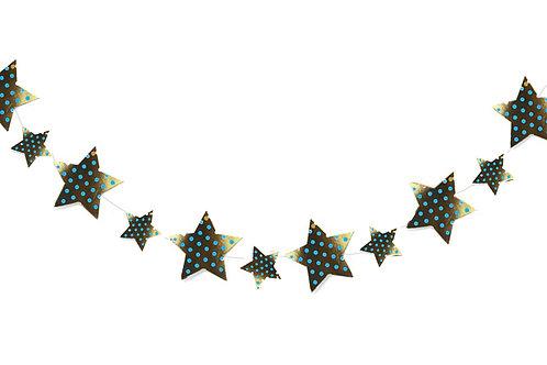 שרשרת כוכבים כחול