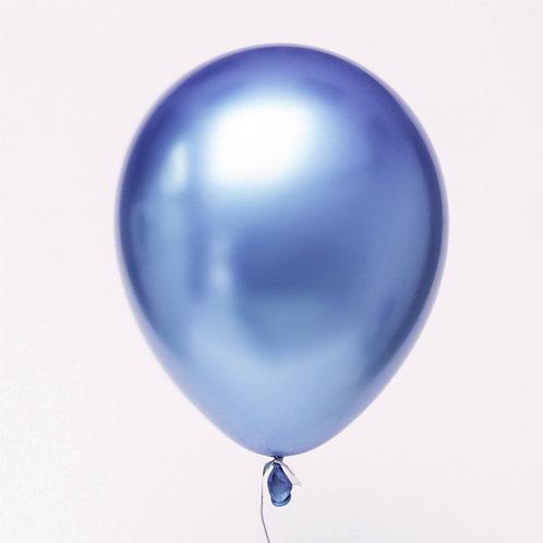 בלון כרום כחול